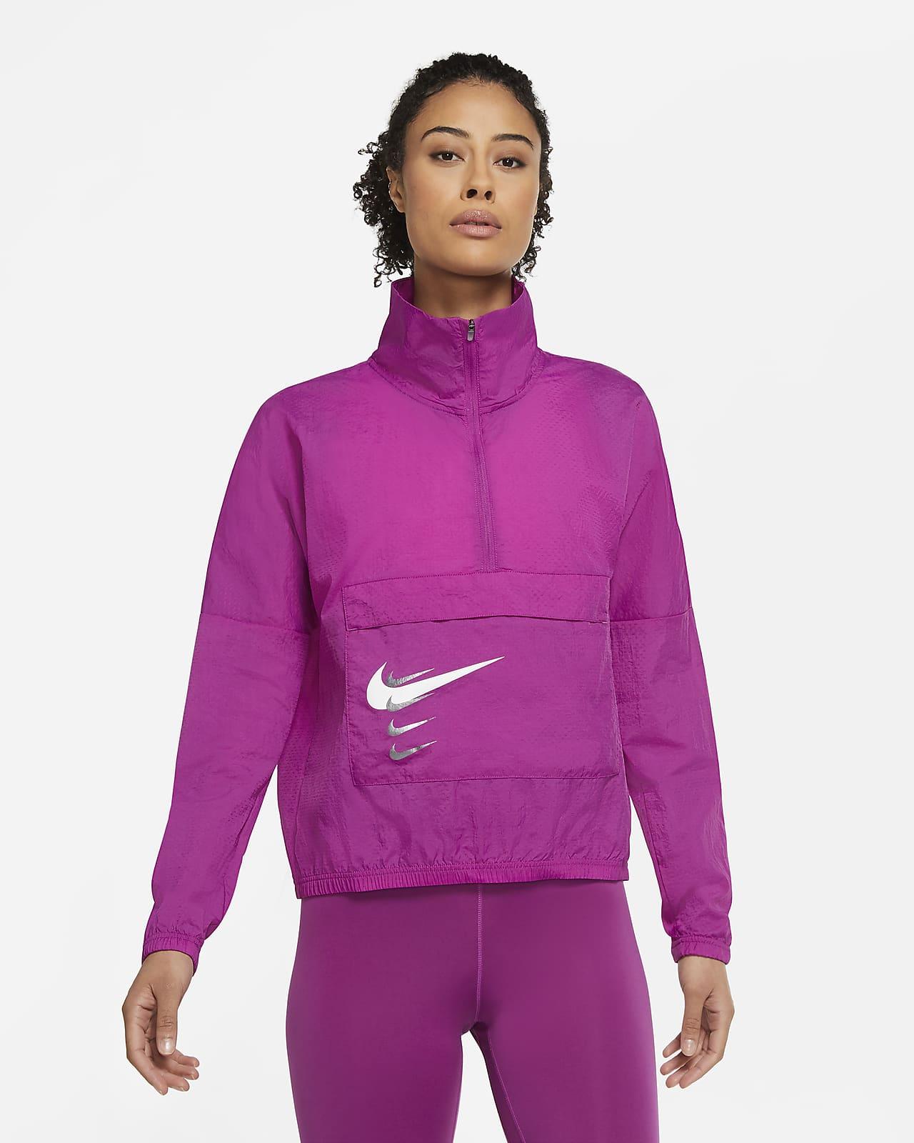 Zanahoria Prueba de Derbeville Acostado  Nike Swoosh Run Women's Running Jacket. Nike LU