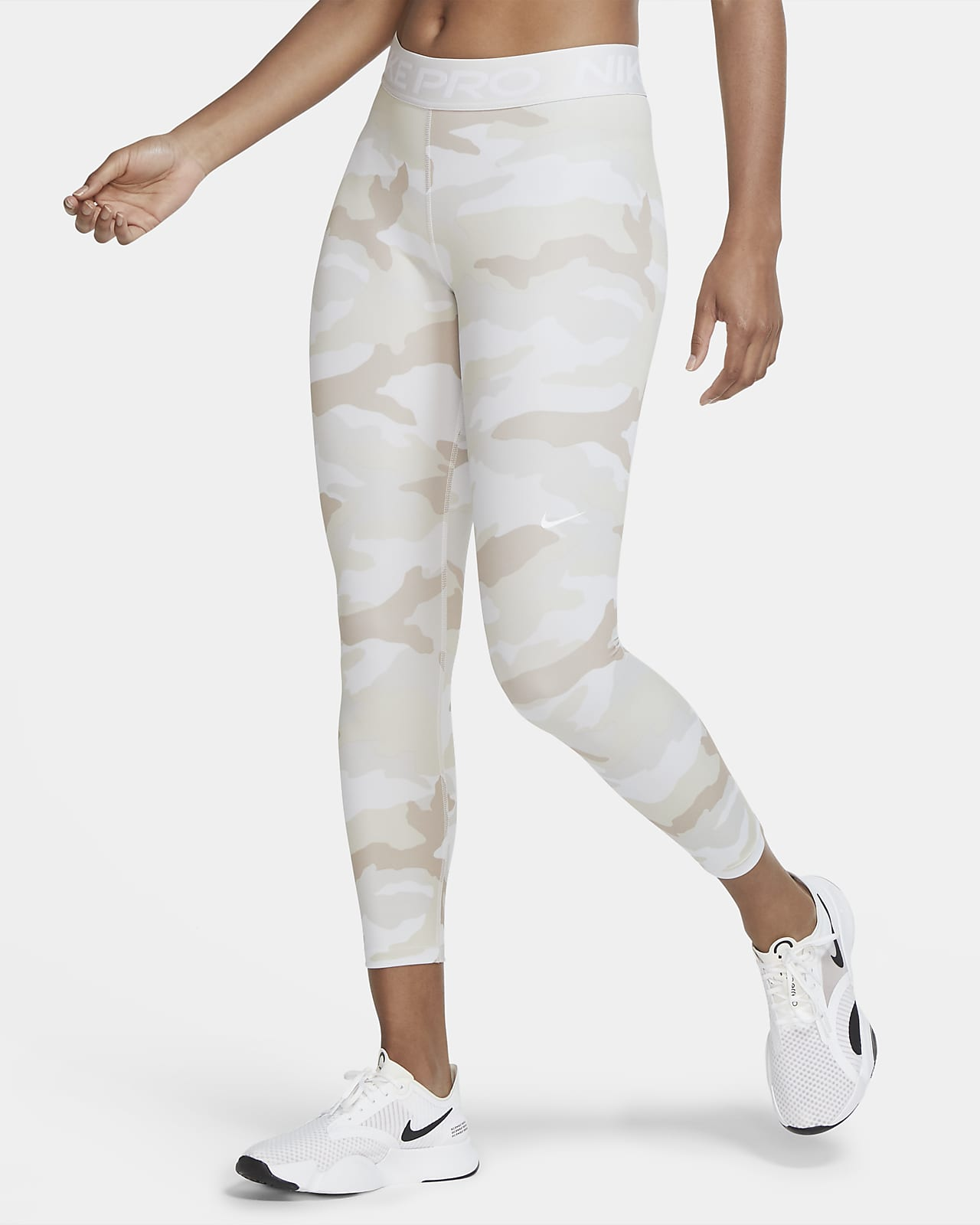 Nike Pro Women's Cropped Camo Tights