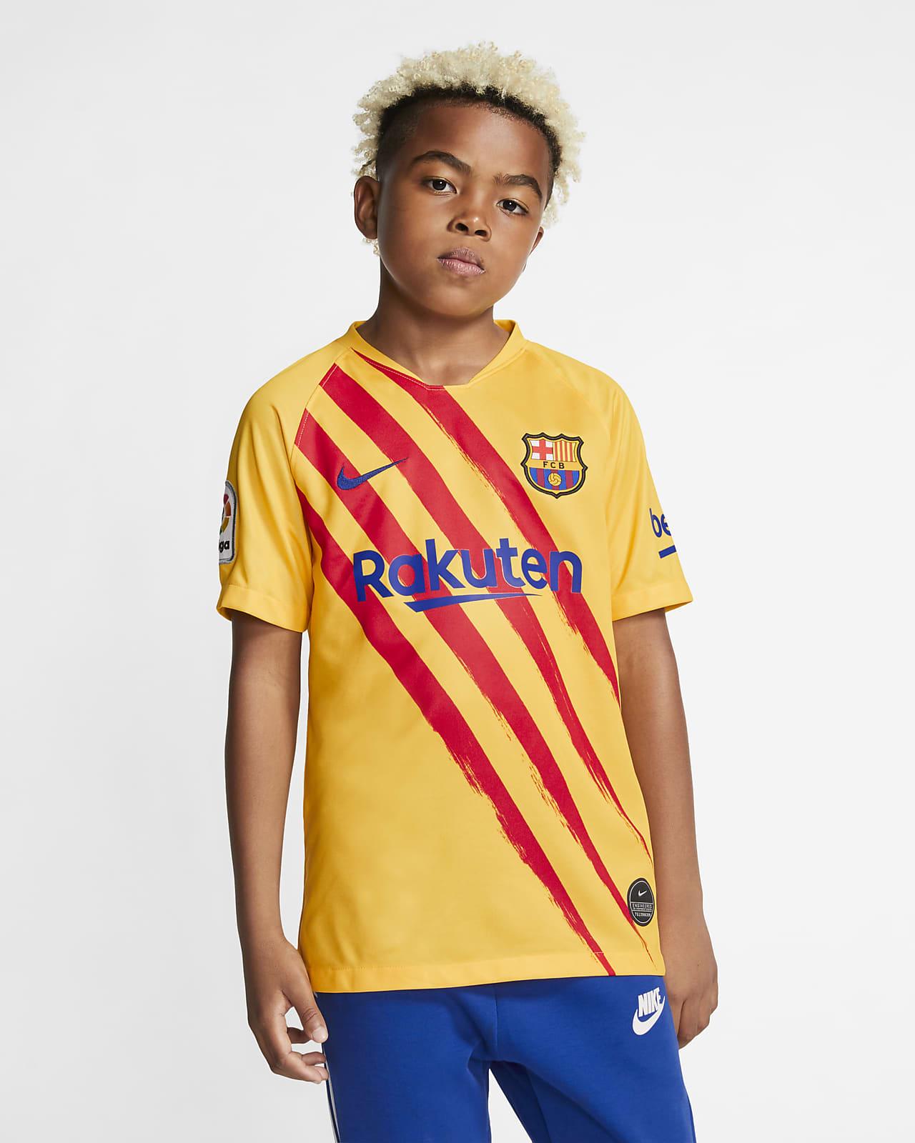 FC Barcelona Stadium Fourth Fußballtrikot für ältere Kinder
