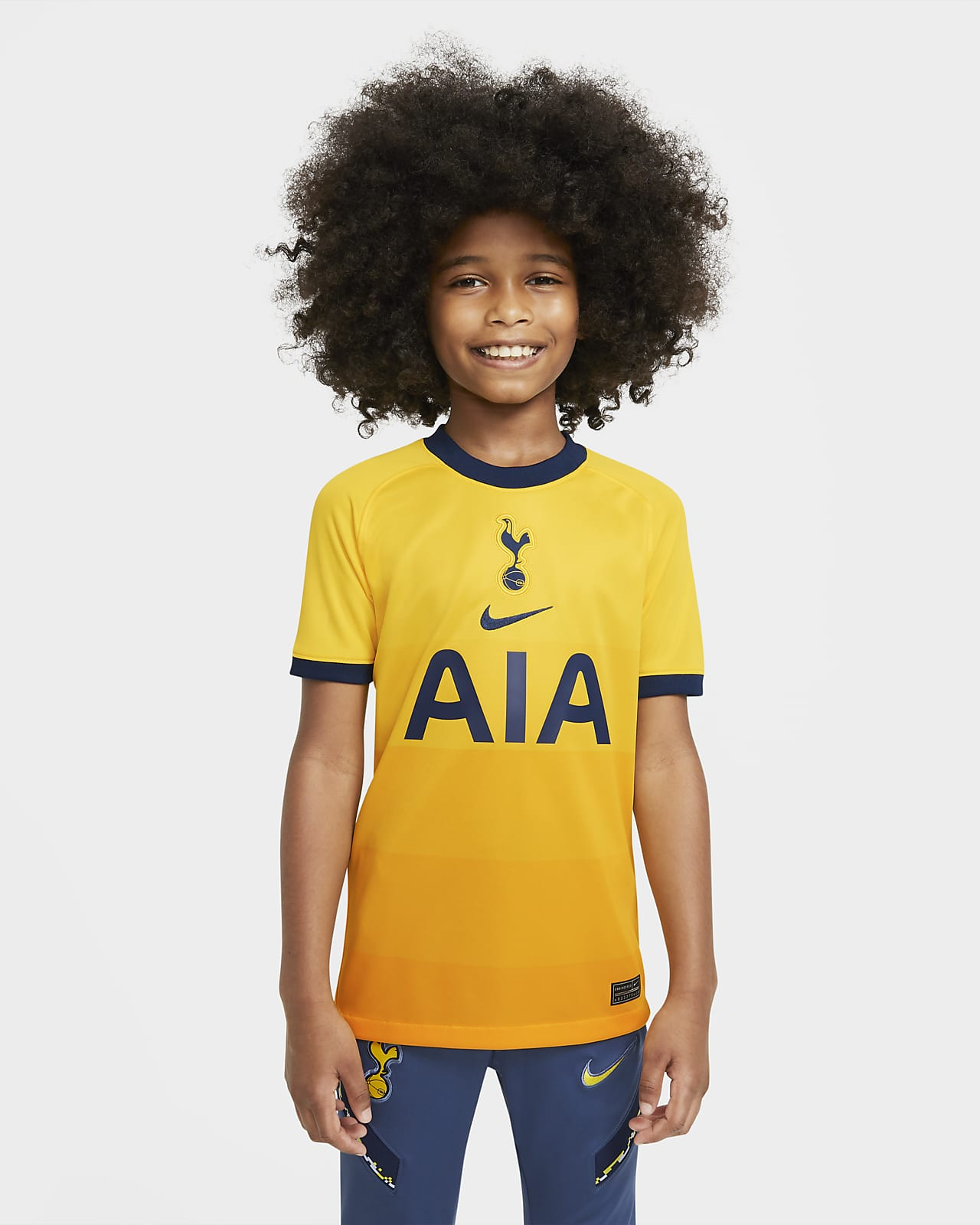 Tottenham Hotspur 2020/21 Stadium Third-fodboldtrøje til store børn