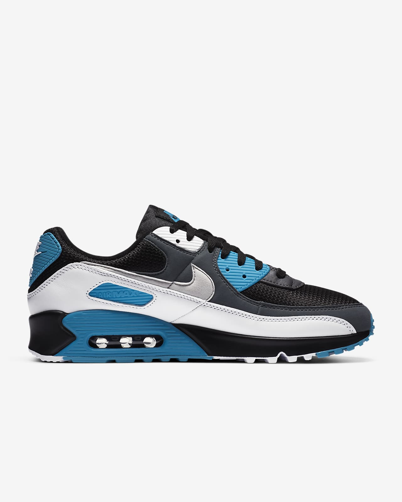 Nike Air Max 90 07 PS BOYS Jungen Schuhe Gr:35 Neu Blau 95