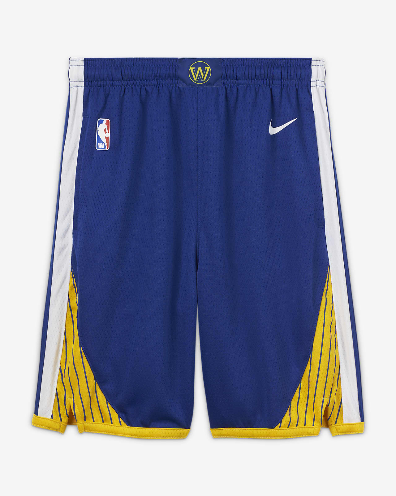 Golden State Warriors Icon Edition Older Kids' Nike NBA Swingman Shorts