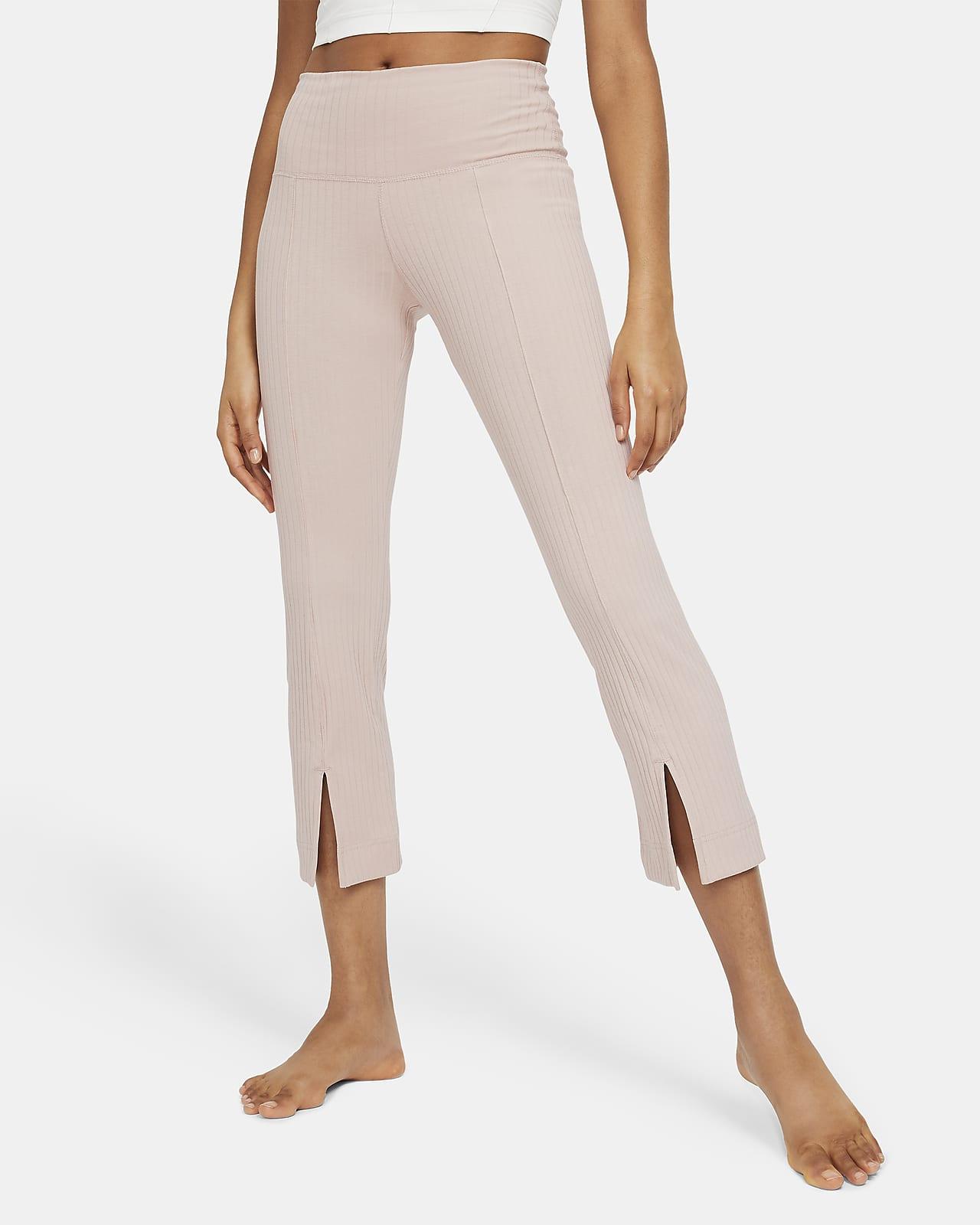 Nike Yoga Ribbed 7/8 女子长裤