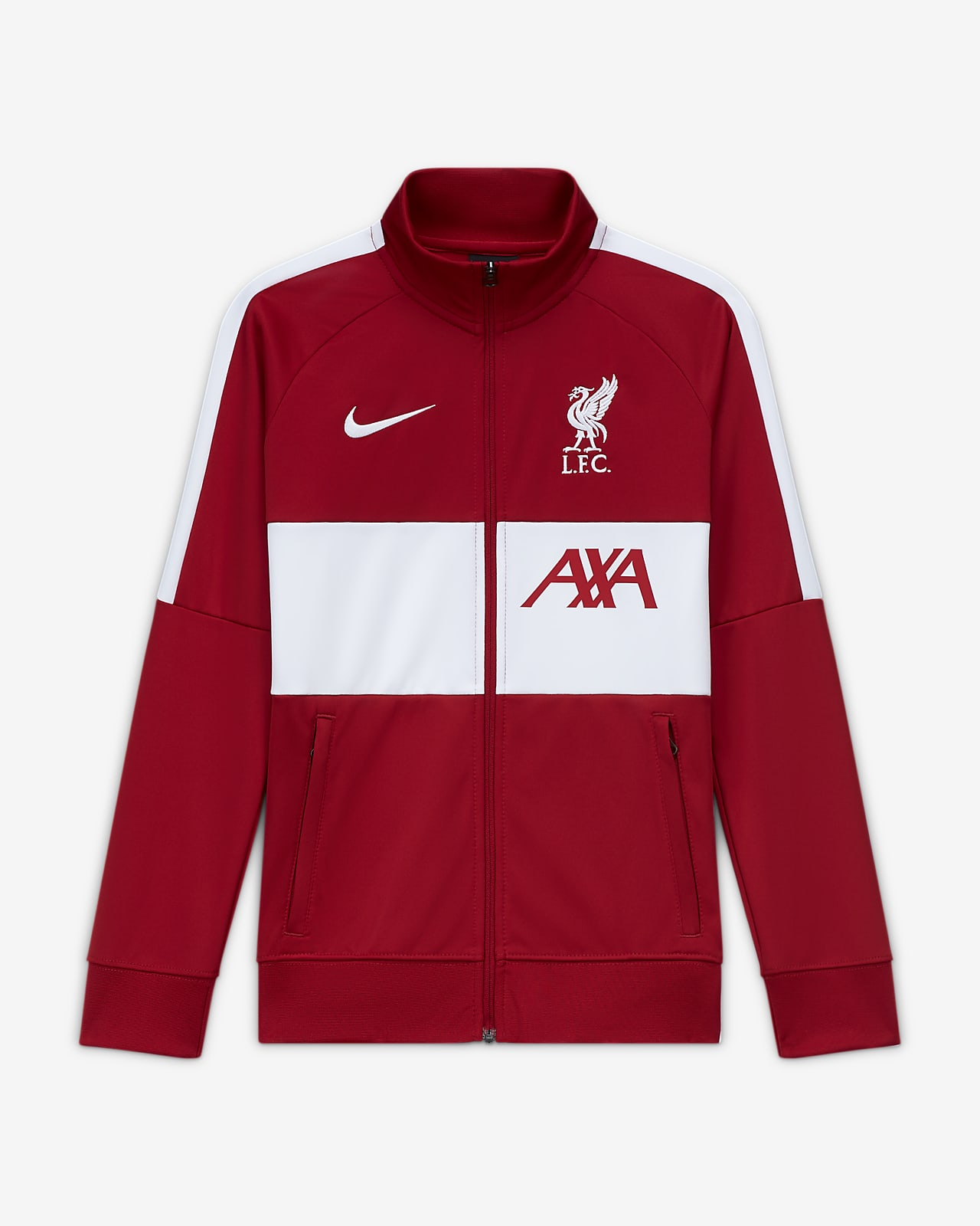 Liverpool F.C. Older Kids' Football Tracksuit Jacket