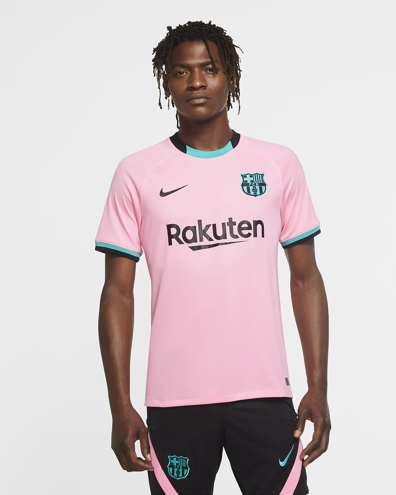 F.C. Barcelona 2020/21 Stadium Third Men's Football Shirt