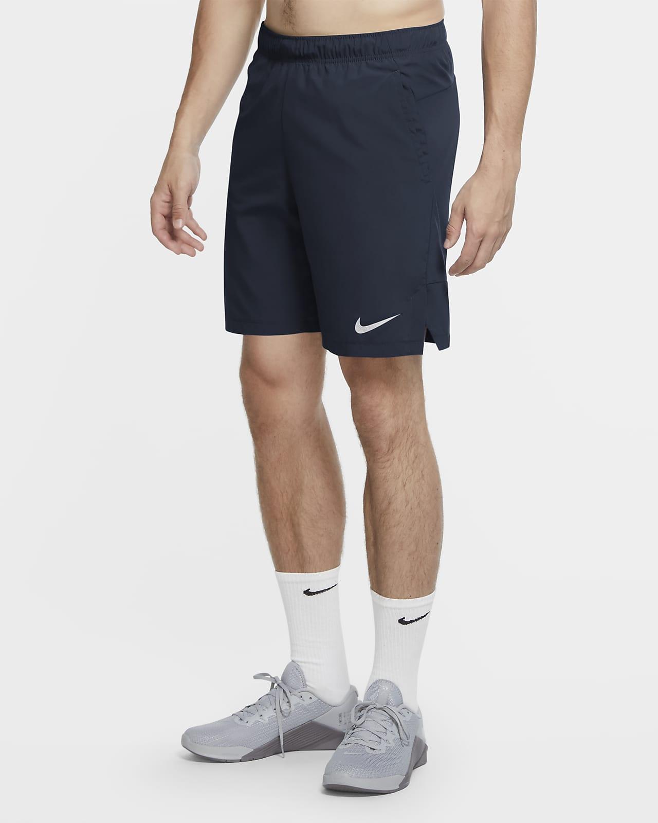Nike Flex 男款梭織訓練短褲