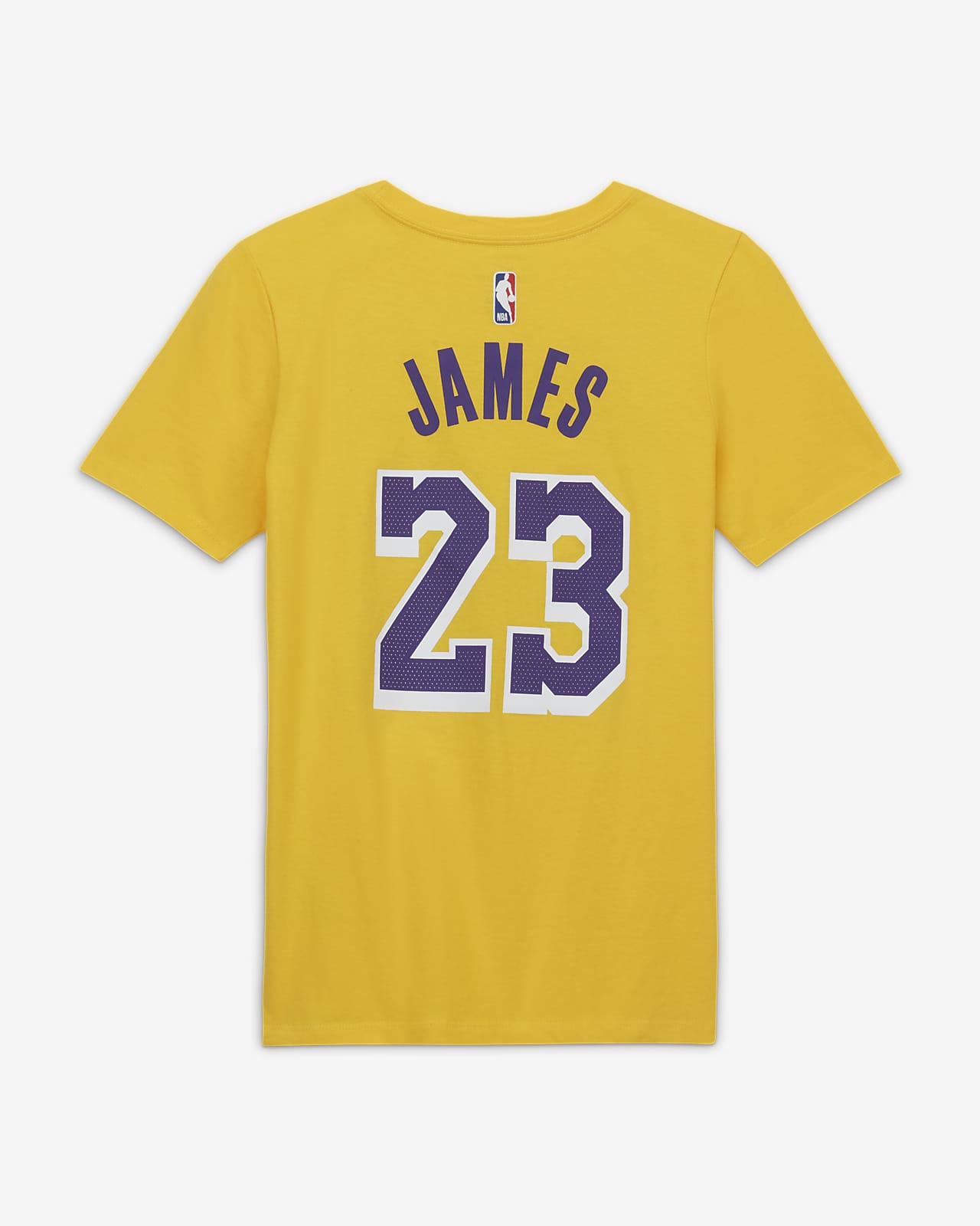 LeBron James Lakers Older Kids' Nike NBA Player T-Shirt. Nike LU