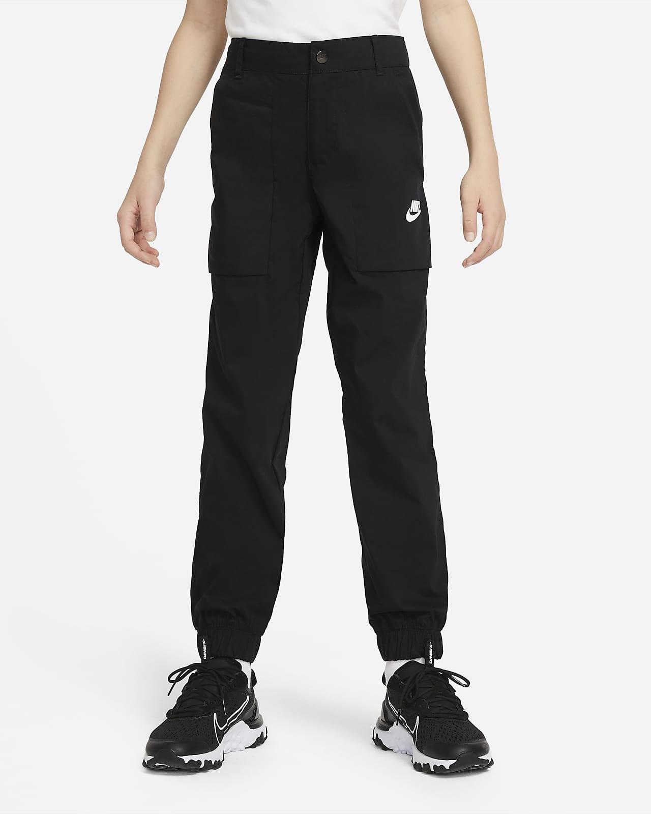 Nike Sportswear 大童(男孩)梭织工装长裤