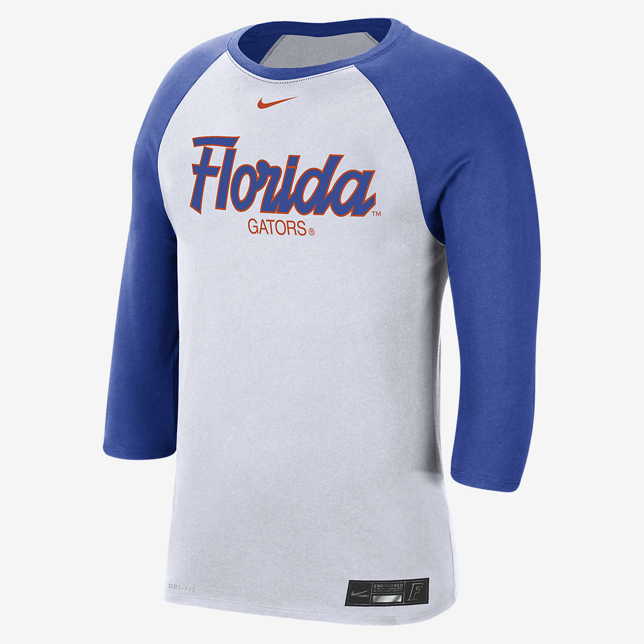 Nike College Dri-FIT (Florida) Men's 3/4-Sleeve T-Shirt