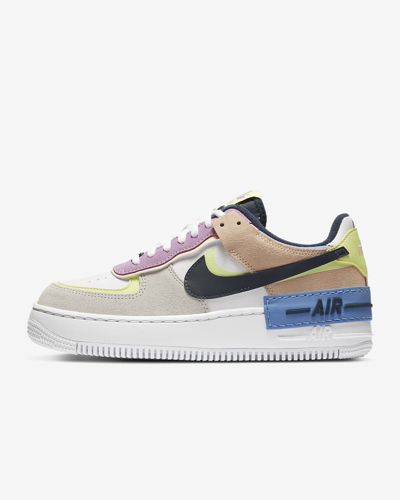 chaussure nike air force 1 shadow pastel