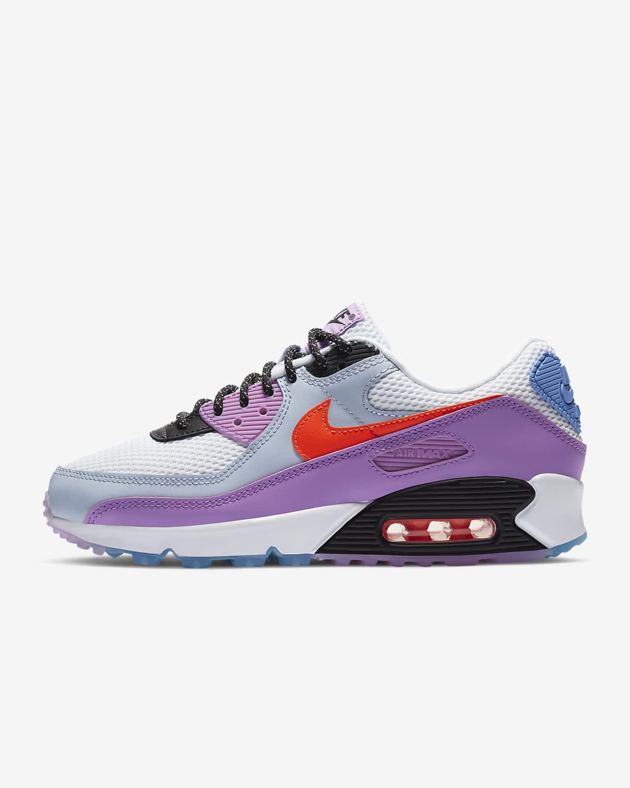 nike air max in purple