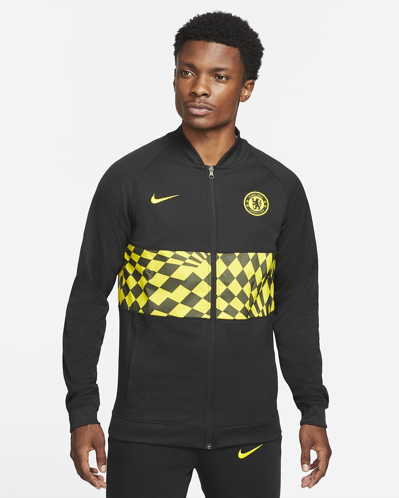 Chelsea FC Fußball-Track-Jacket mit durchgehendem Reißverschluss für Herren