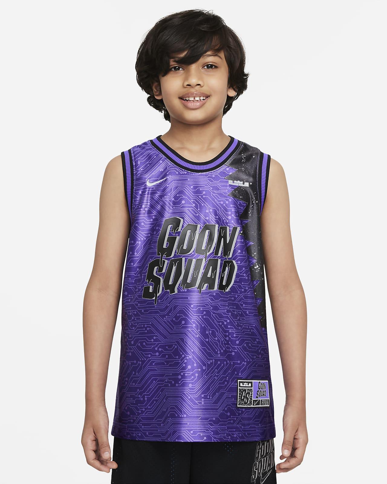 Maillot de basketball Nike Dri-FIT x Space Jam: A New Legacy pour Enfant plus âgé