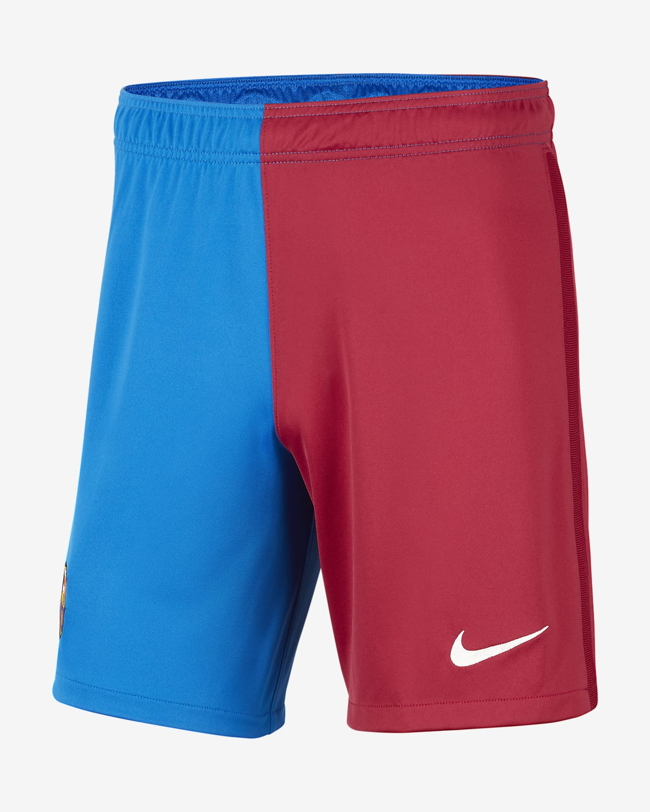 F.C. Barcelona 2021/22 Stadium Home/Away Men's Football Shorts