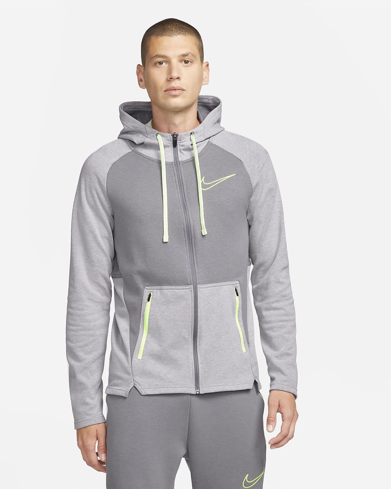 Nike Therma-FIT-træningshættetrøje med lynlås til mænd
