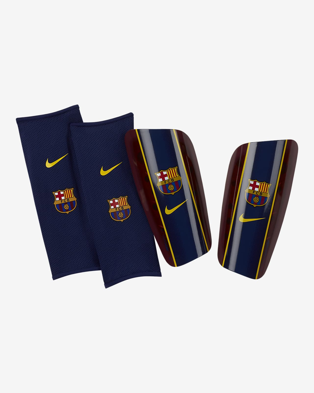 Protège-tibias de football FC Barcelona Mercurial Lite