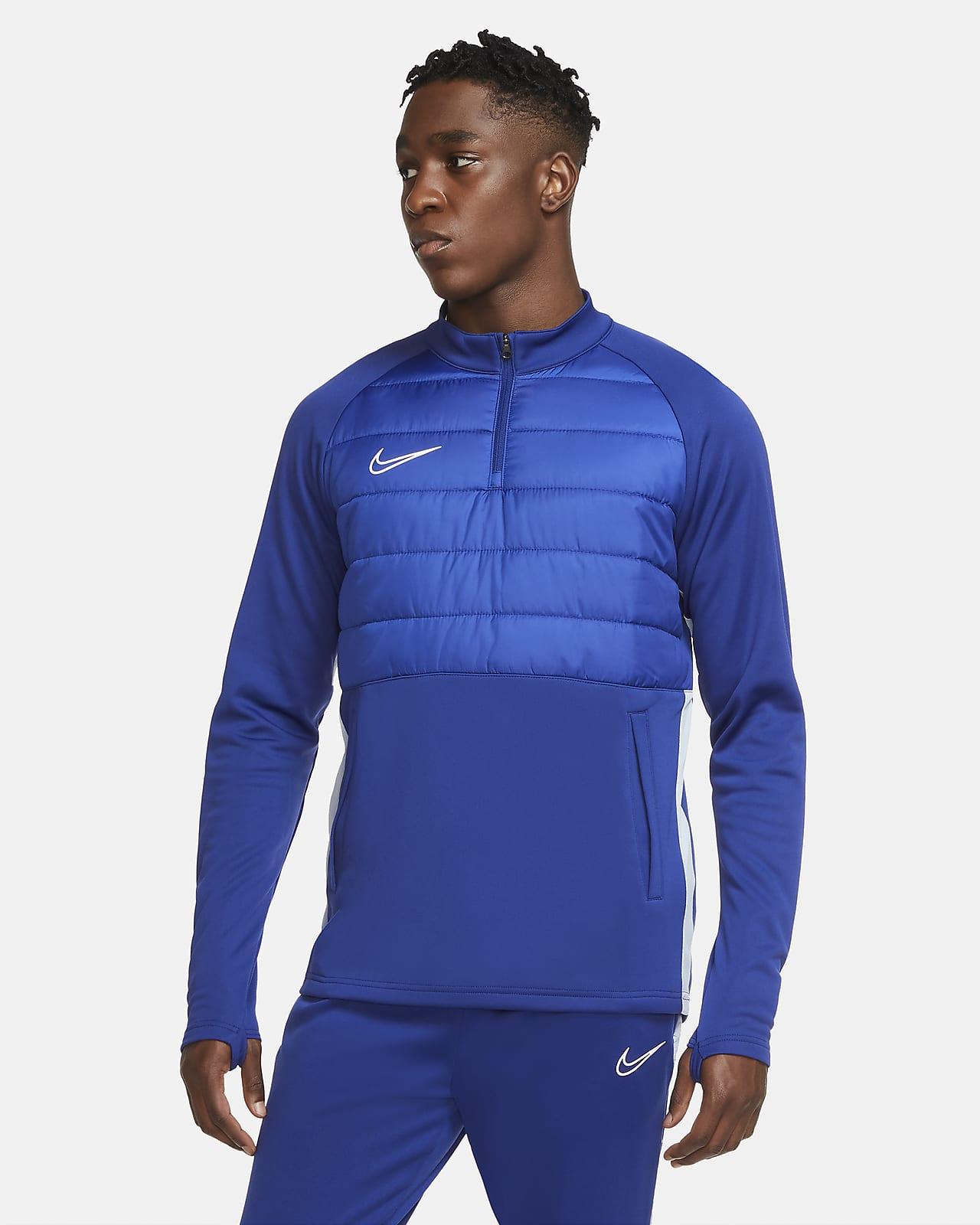 Nike Dri-FIT Academy Winter Warrior-fodboldtræningstrøje til mænd