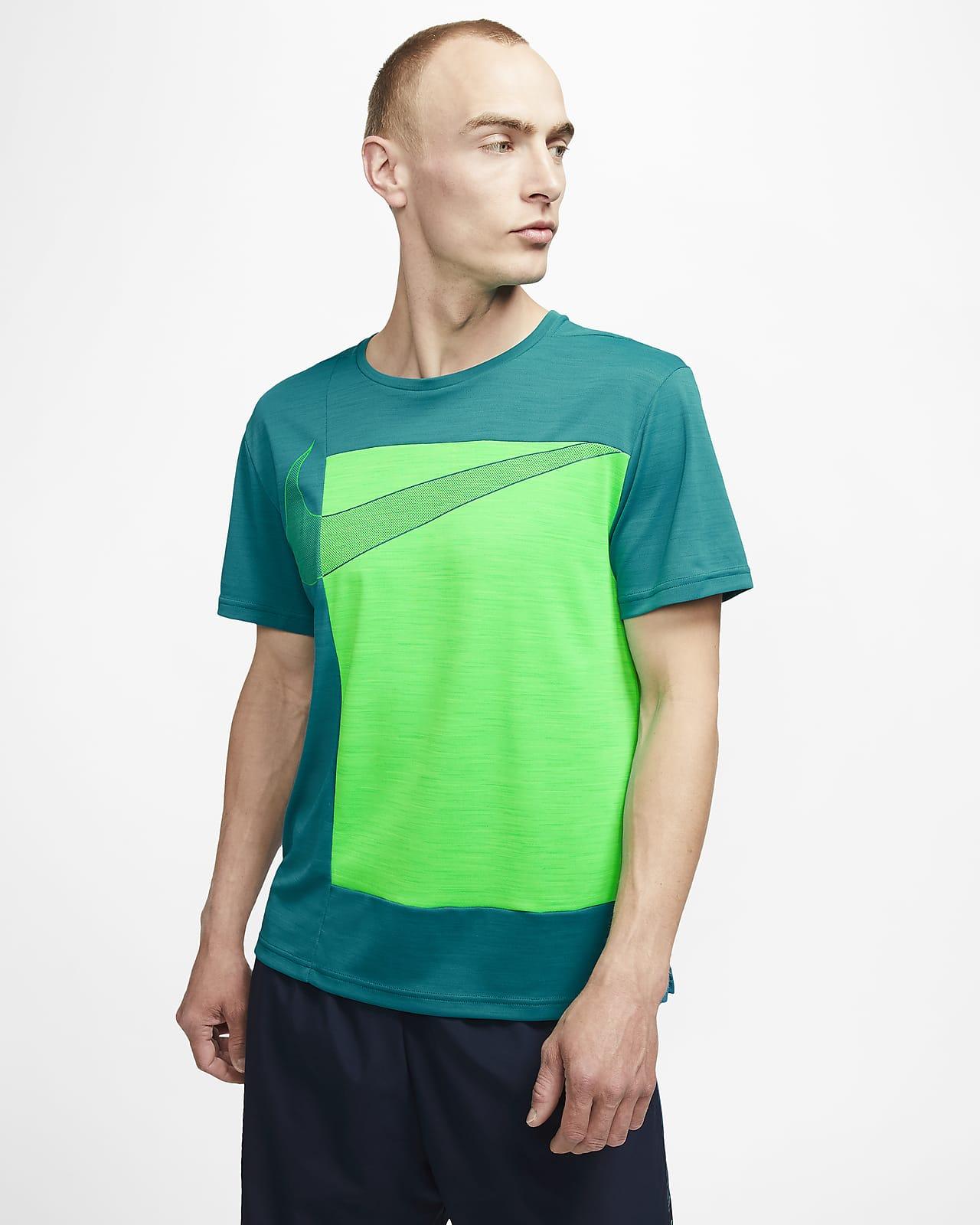 Nike Superset 男款短袖圖樣訓練上衣