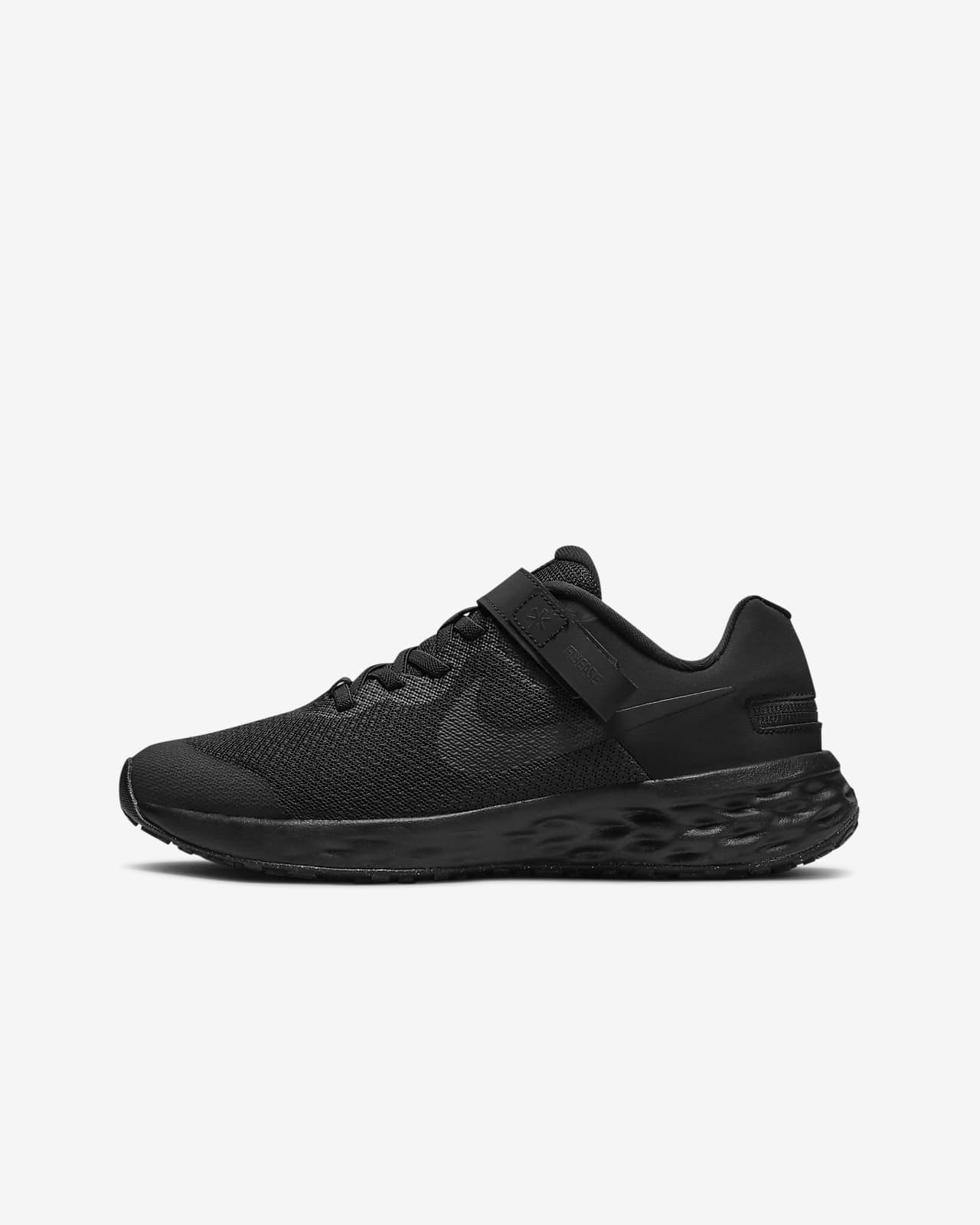 Nike Revolution 6 FlyEase Big Kids' Easy On/Off Road Running Shoes