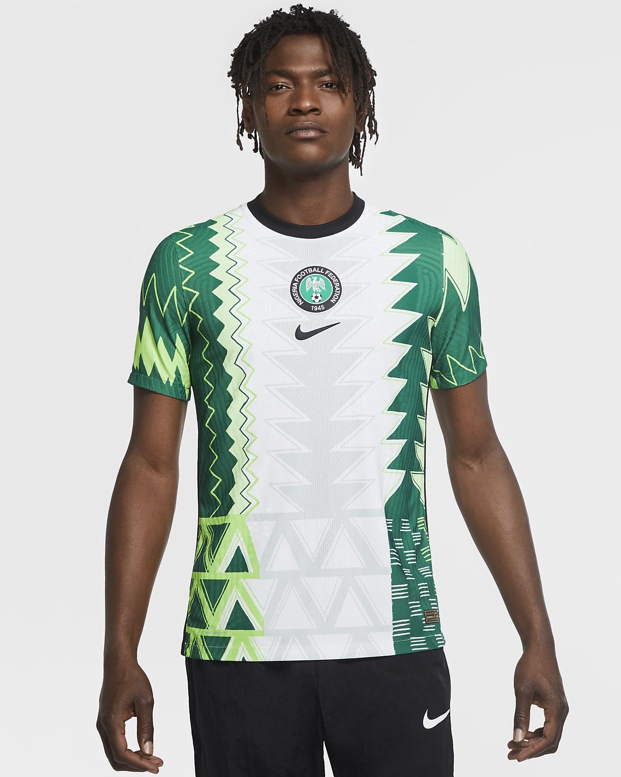 Camiseta de fútbol de local para hombre Vapor Match de Nigeria 2020