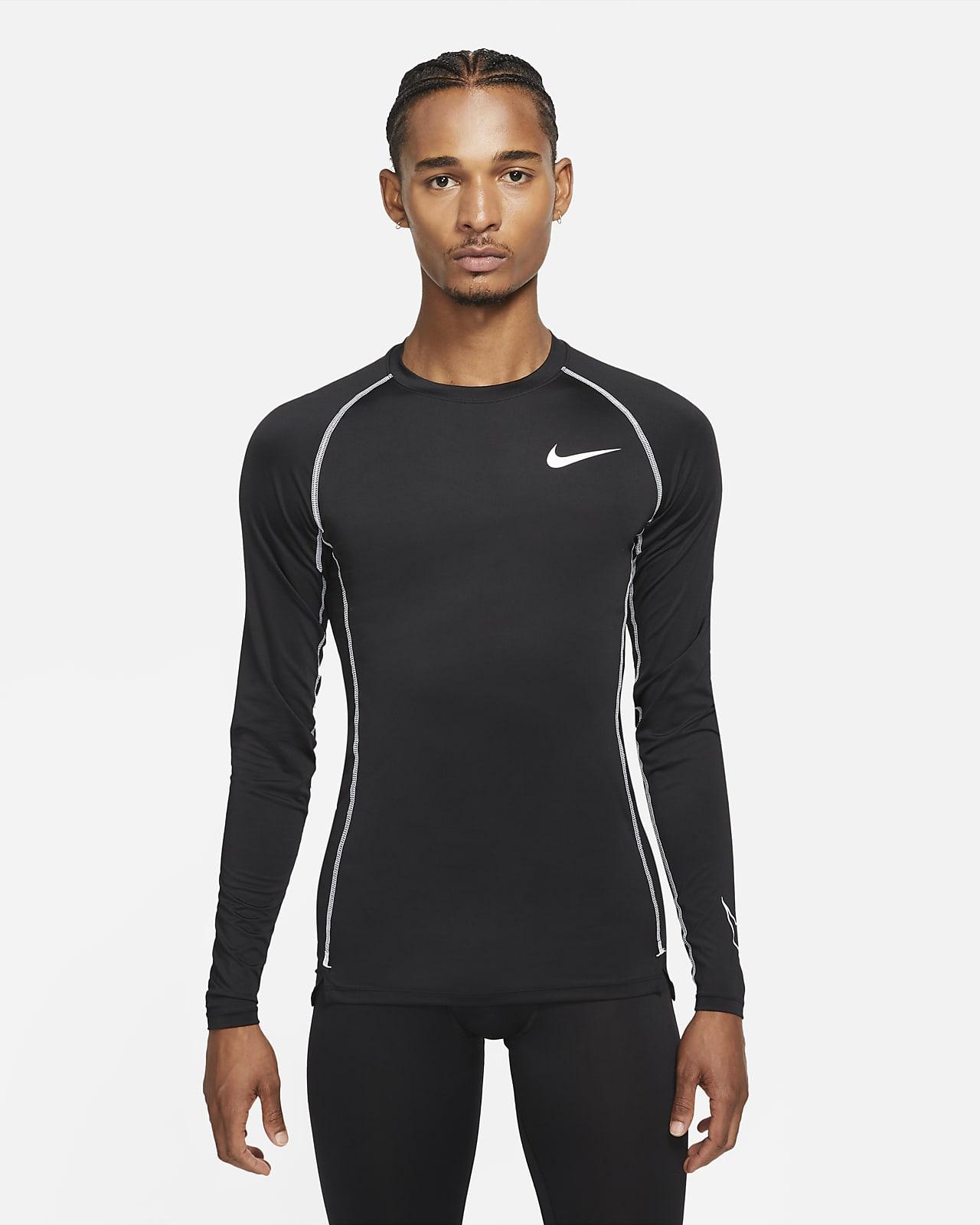 Nike Pro Dri-FIT Men's Tight-Fit Long-Sleeve Top