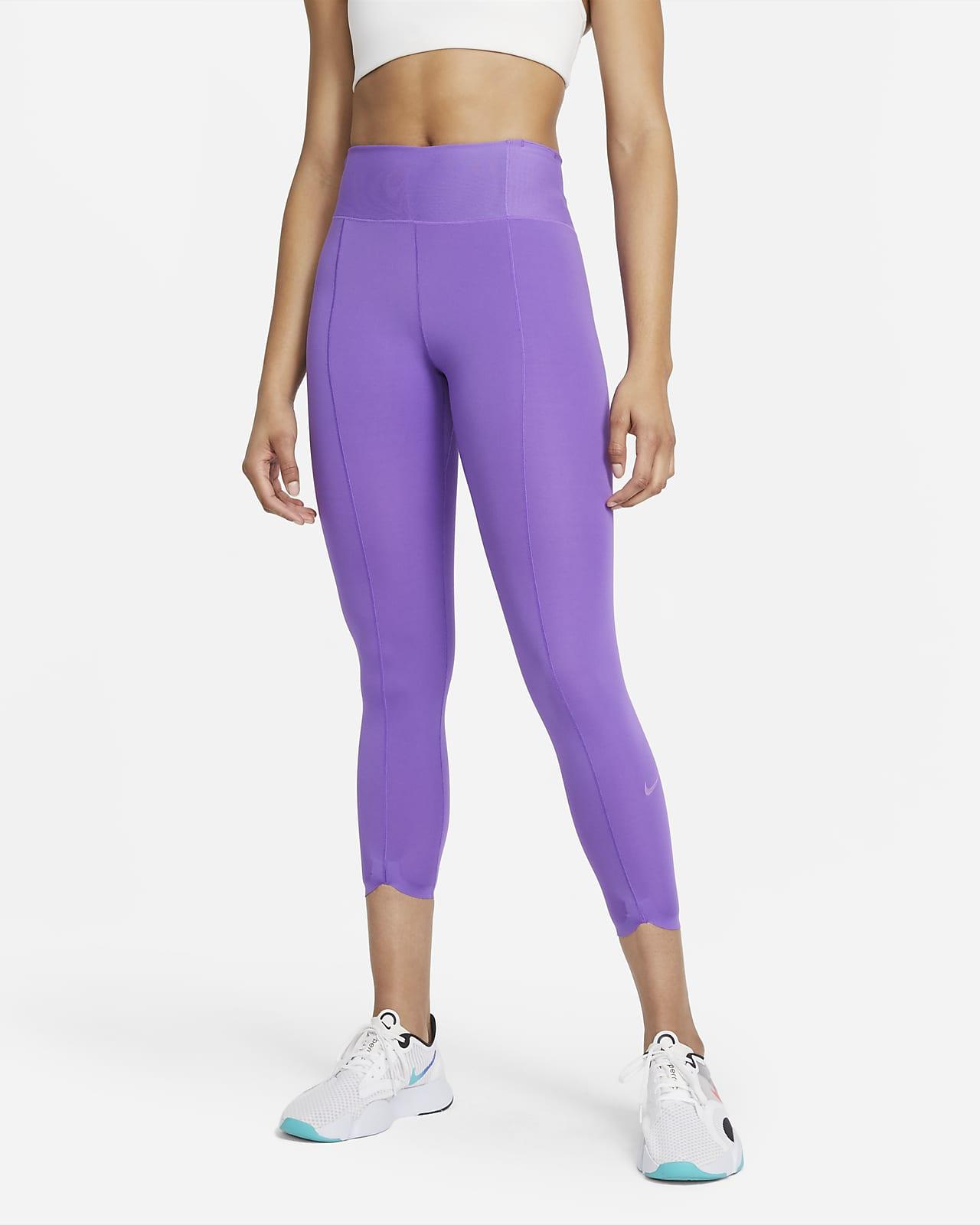Женские укороченные леггинсы Nike One Luxe Icon Clash