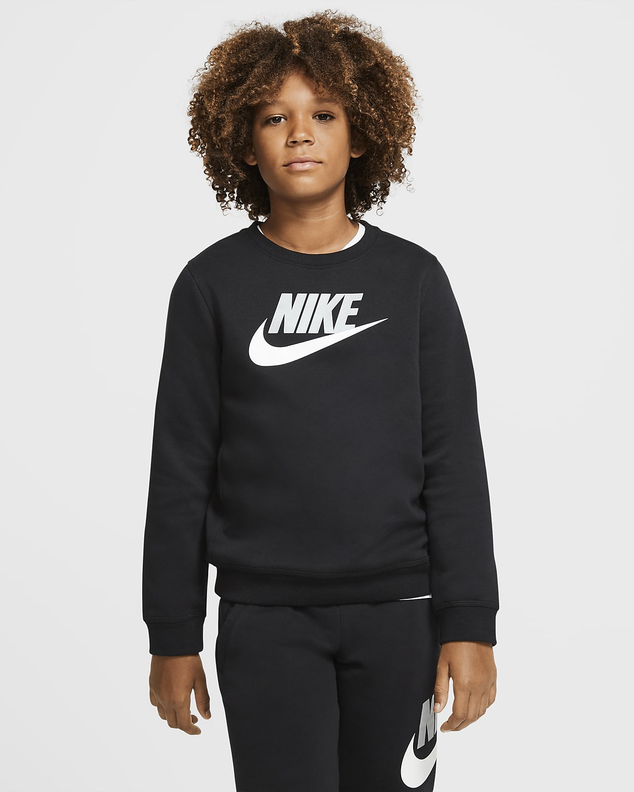 Nike Sportswear Club Fleece Older Kids' (Boys') Crew