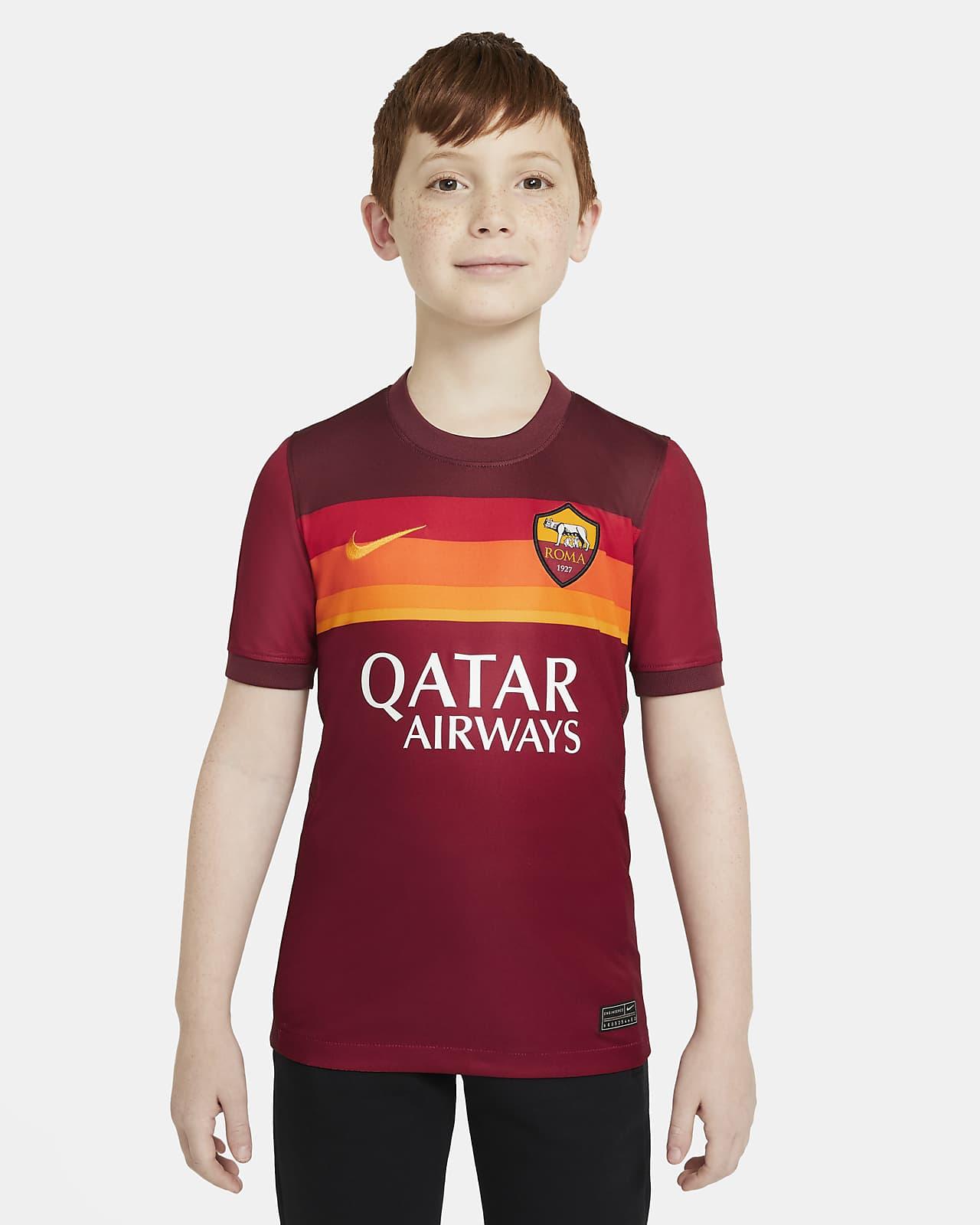 Maglia da calcio A.S. Roma 2020/21 Stadium per ragazzi - Home