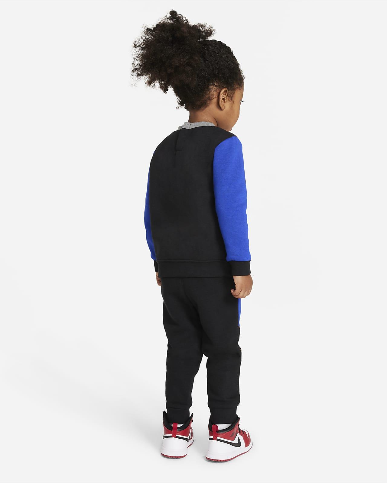 Conjunto De Sudadera De Cuello Redondo Y Pantalones Para Bebe De 12 A 24 Meses Nike Com
