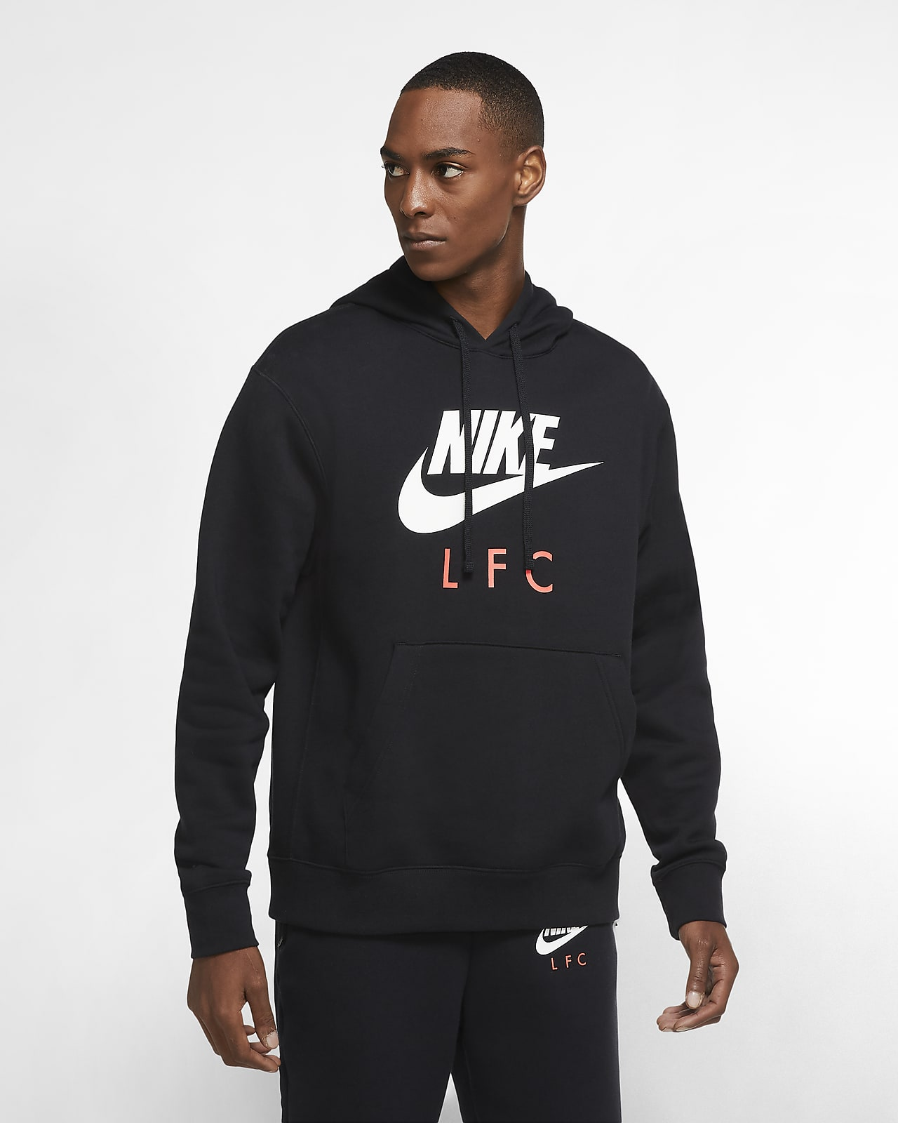 Liverpool F.C. Club Men's Pullover Hoodie