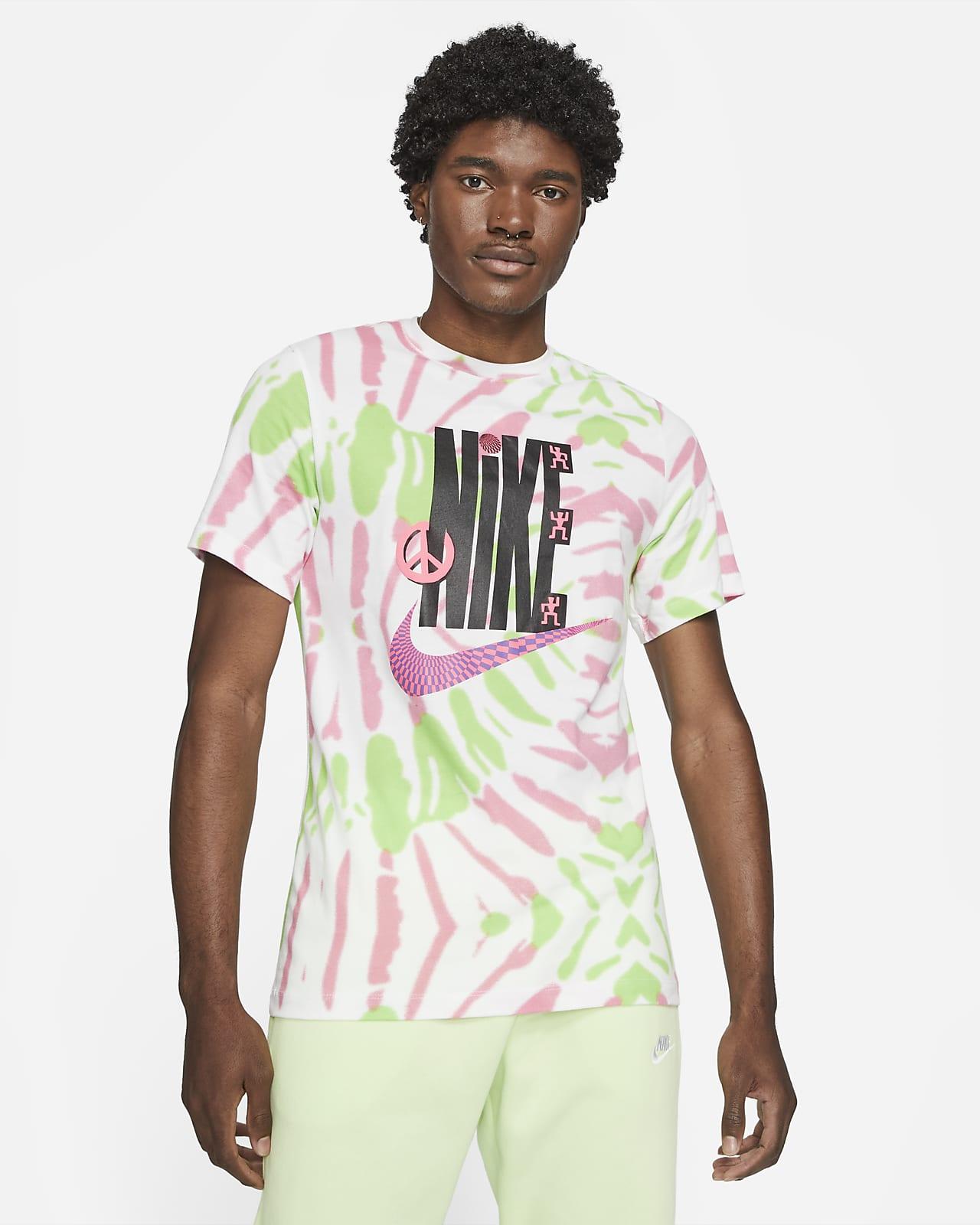 Playera tie-dye para hombre Nike Sportswear