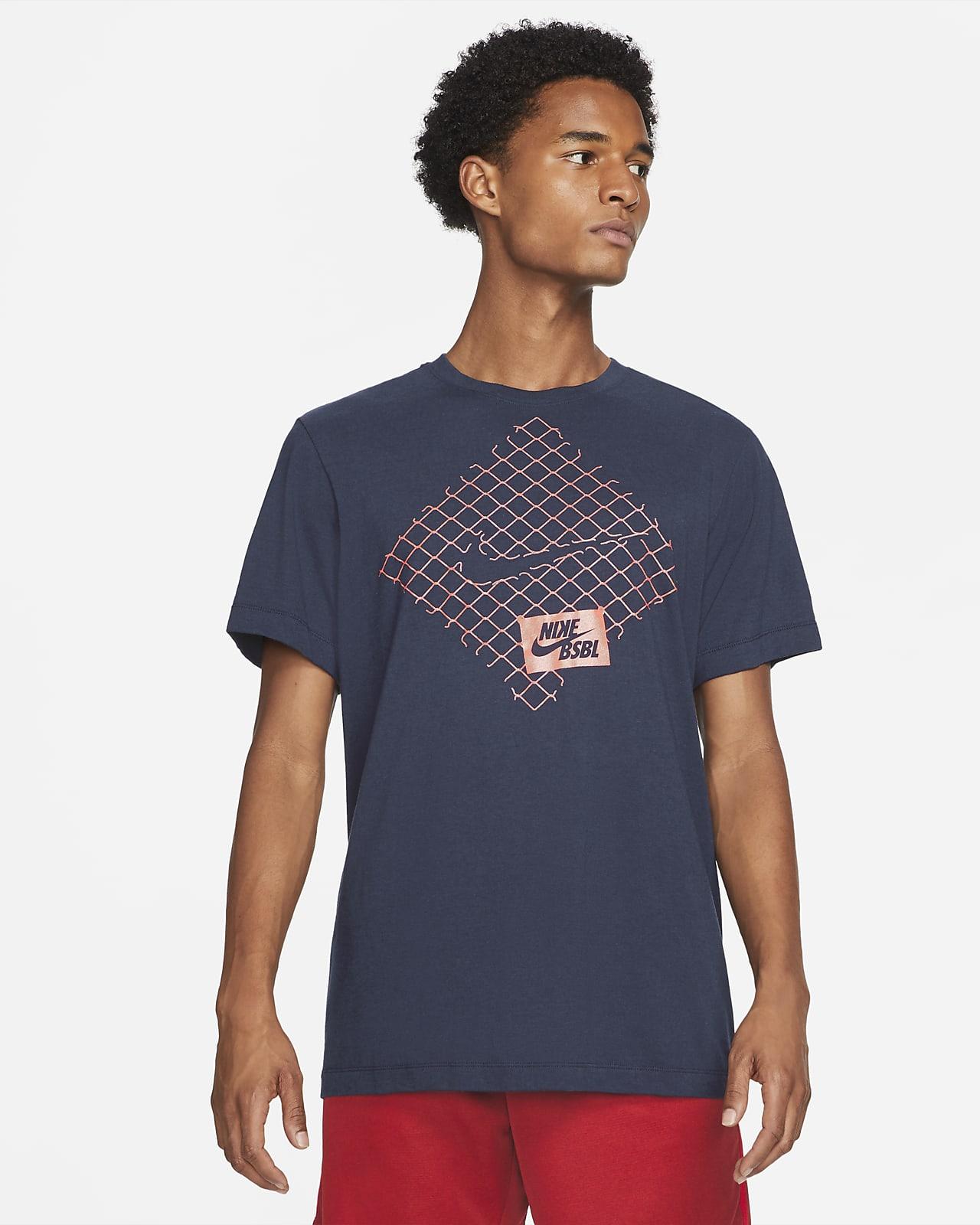 Playera de béisbol para hombre Nike