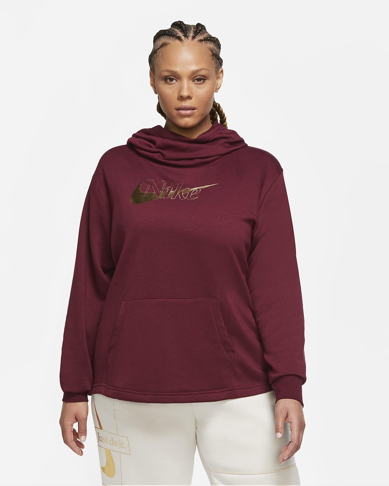 Funnel Neck Fleece (Plus Size). Nike