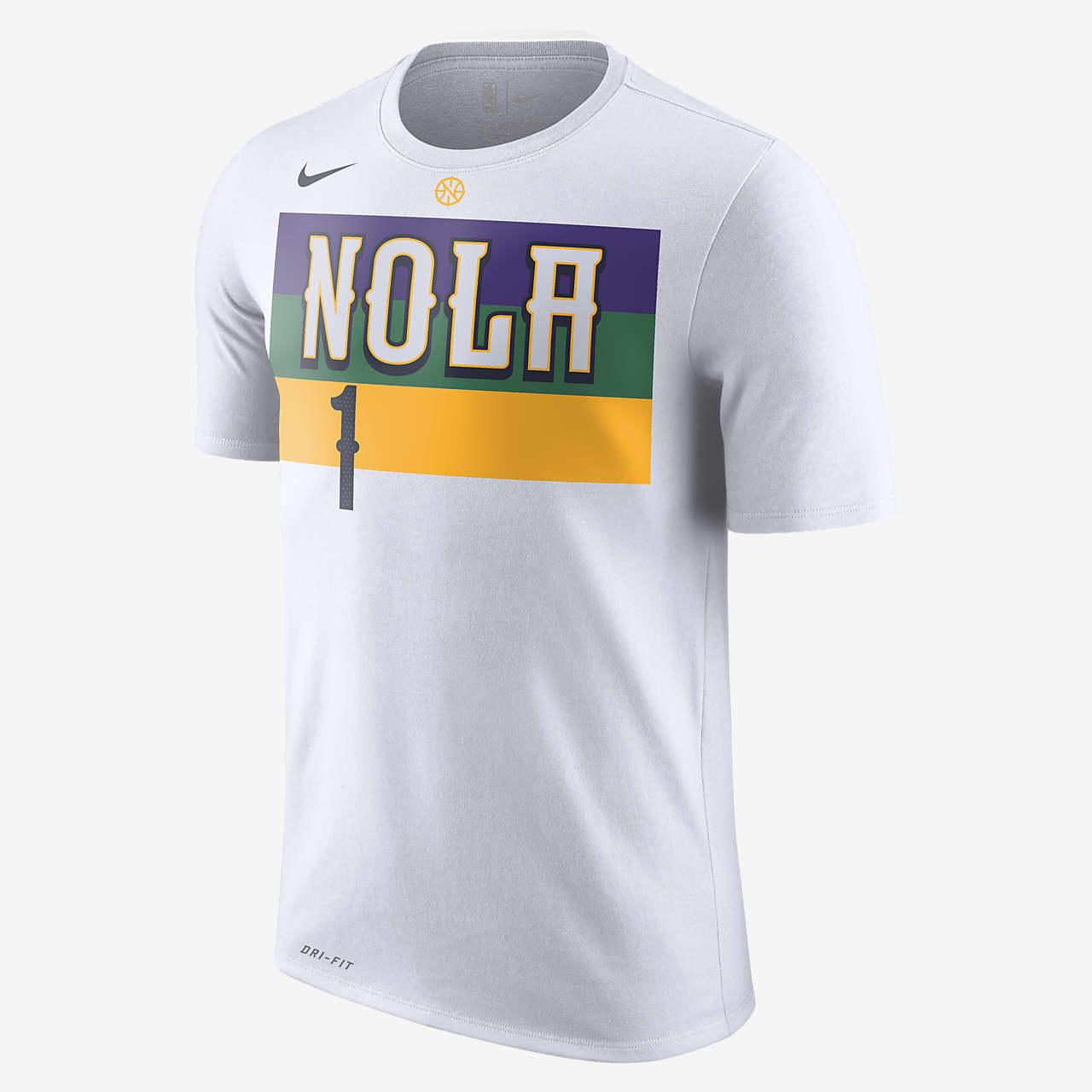Zion Williamson Pelicans City Edition Men's Nike Dri-FIT NBA T-Shirt