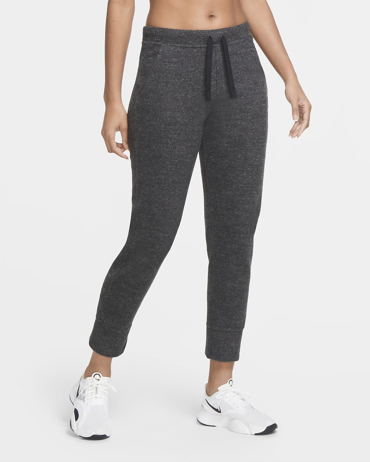 Pantalones De Entrenamiento Entallados De Tejido Fleece Para Mujer Nike Therma Nike Com