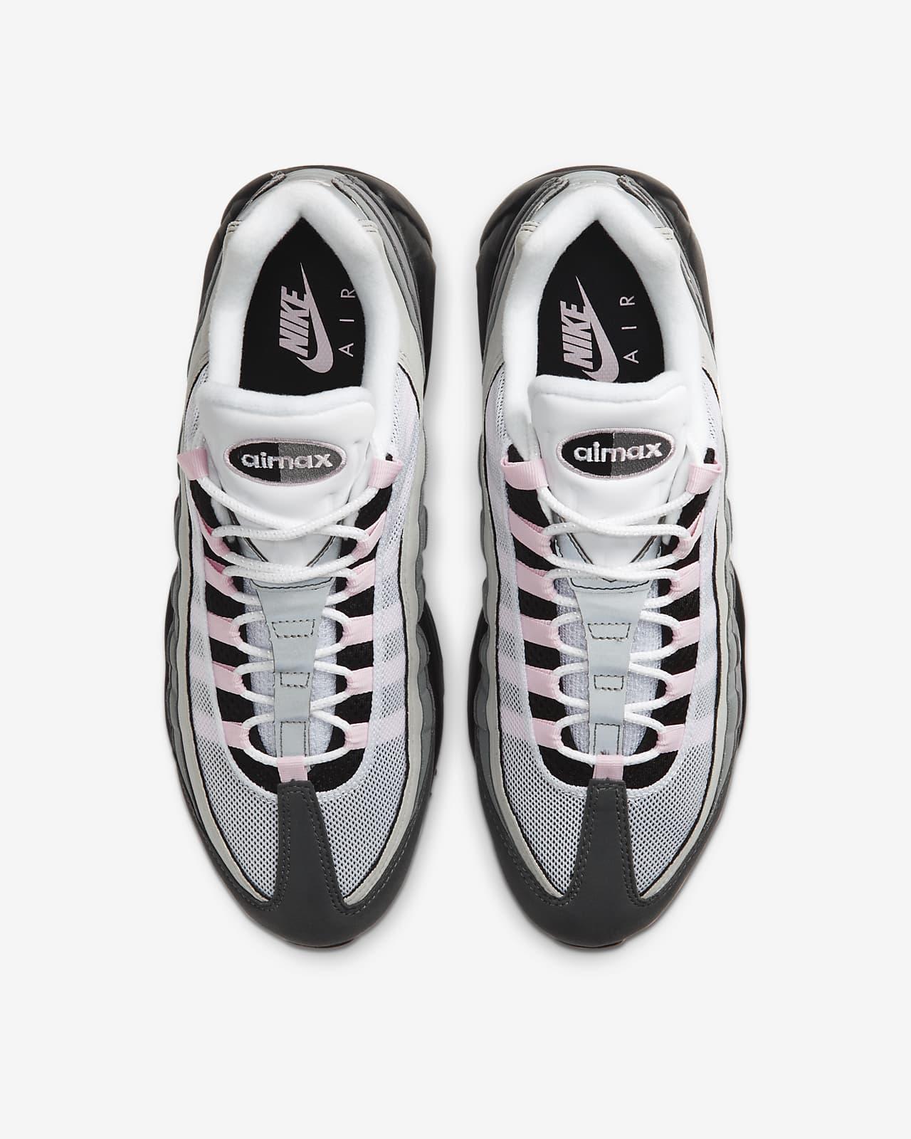 air max 95 pink foam on feet