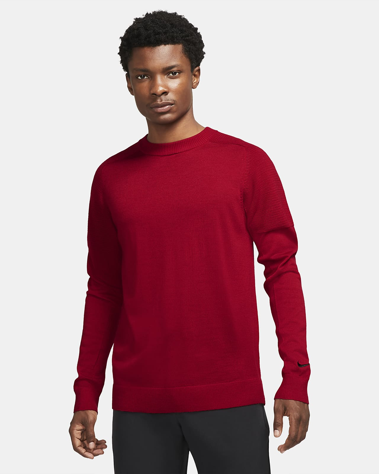Tiger Woods Men's Knit Golf Sweater