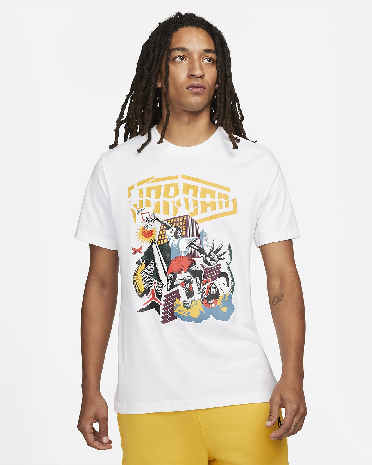 Jordan Sport DNA Kurzarm T Shirt für Herren. Nike DE
