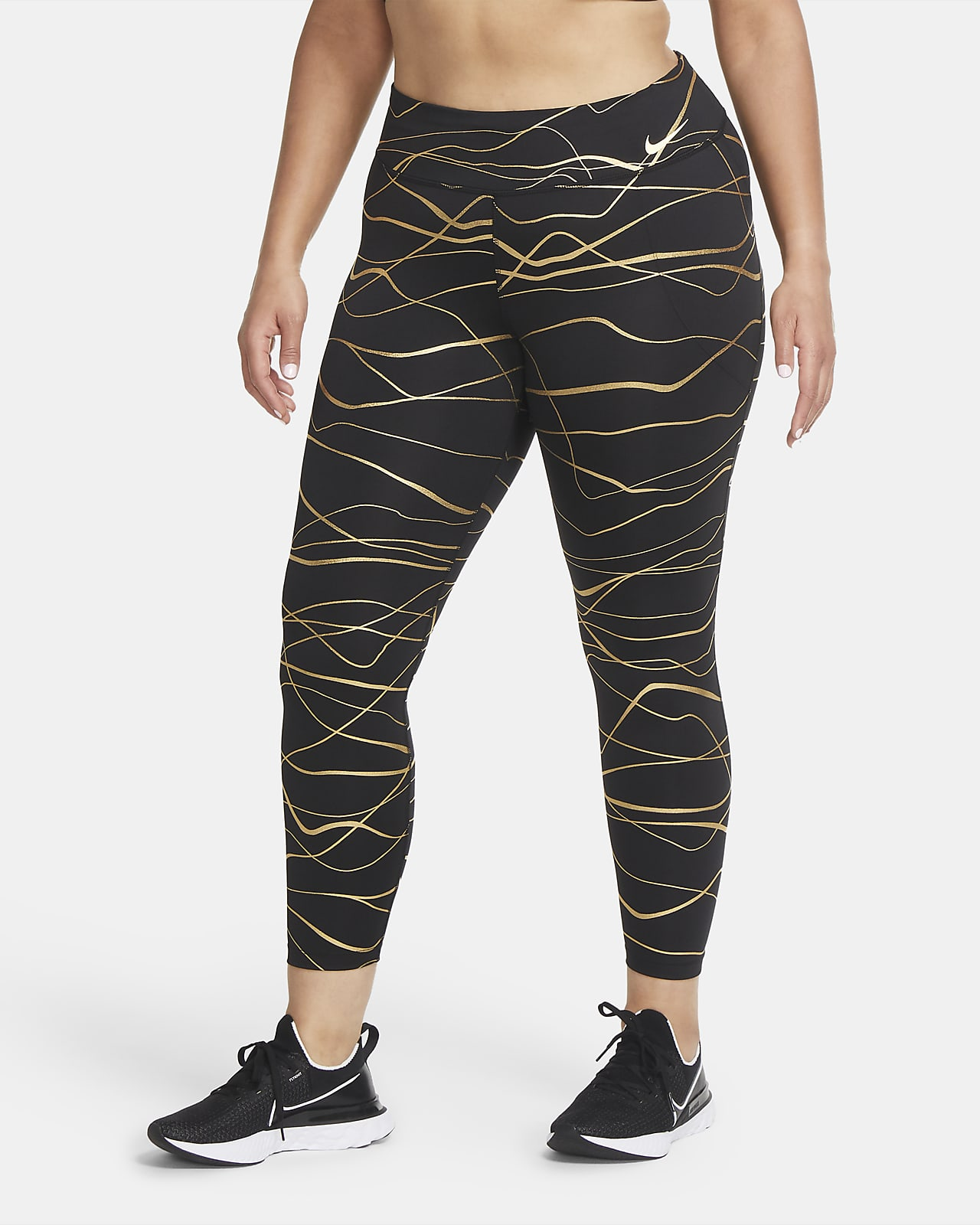 Nike Icon Clash Fast Women's Running Leggings (Plus Size)