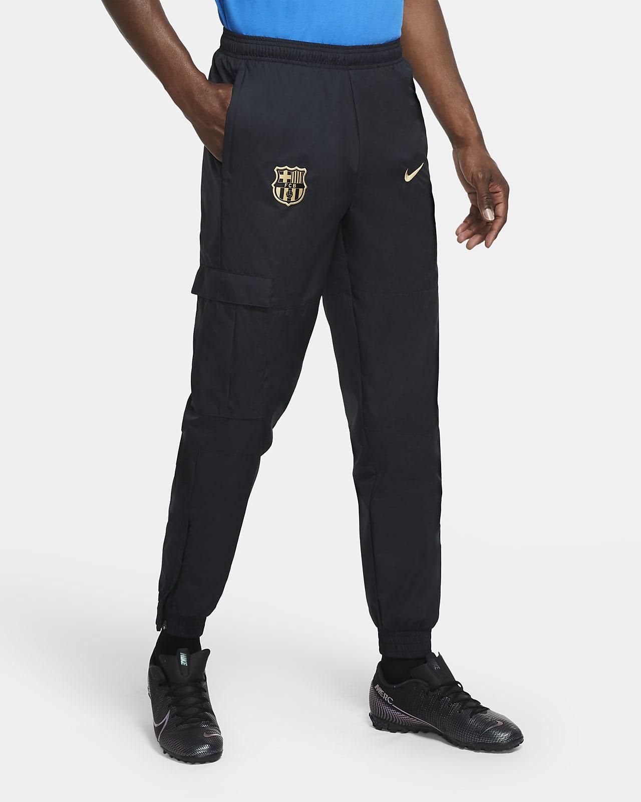 Pantalon de survêtement de football tissé FC Barcelona pour Homme