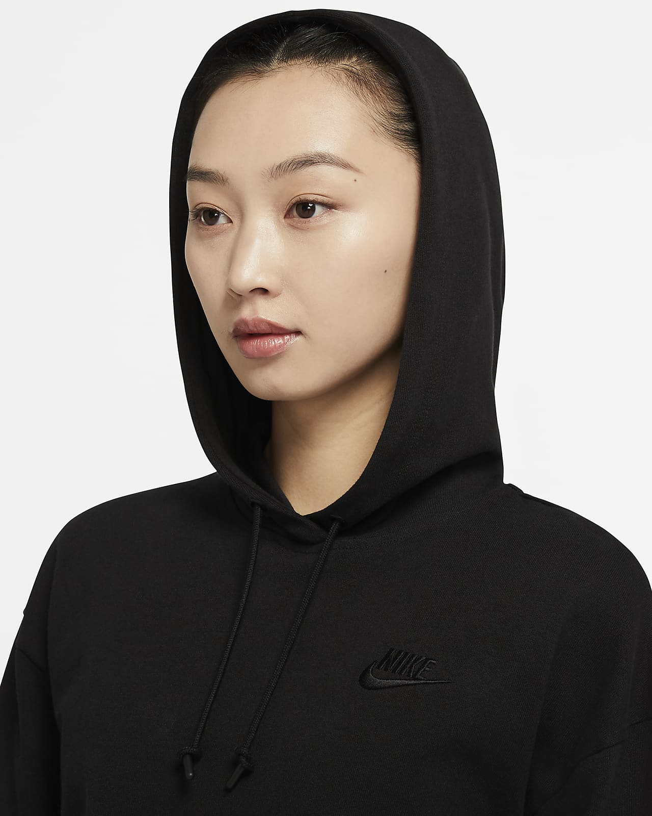 Sportswear Fitness Skins Pullover Hoody New Navy Womens