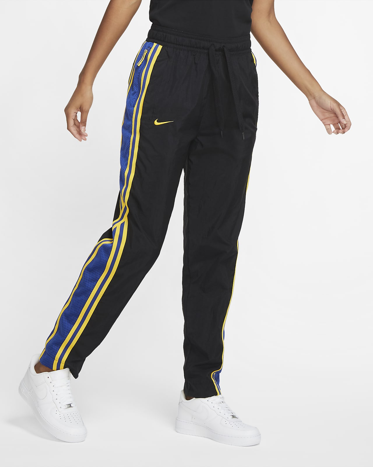 Pantalones De Conjunto De Entrenamiento Nike Nba Para Mujer Warriors Courtside Nike Com