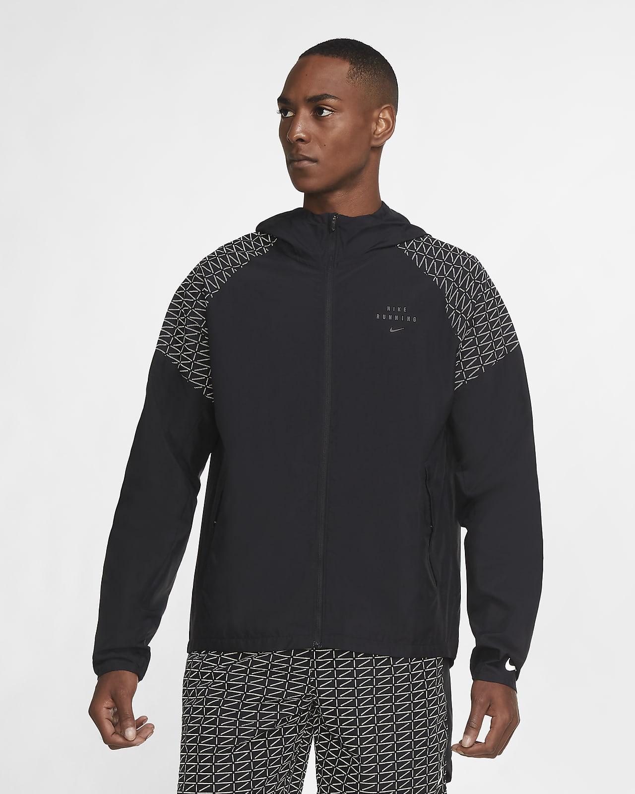 เสื้อแจ็คเก็ตวิ่งผู้ชาย Nike Essential Run Division Flash