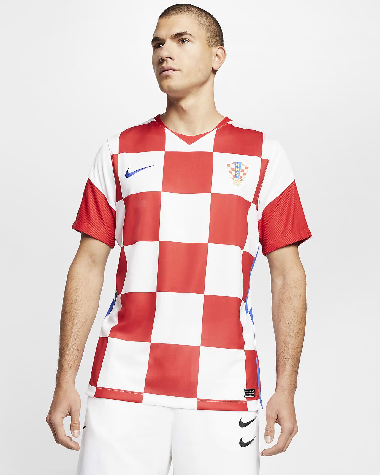 2020 赛季克罗地亚队主场球迷版男子足球球衣