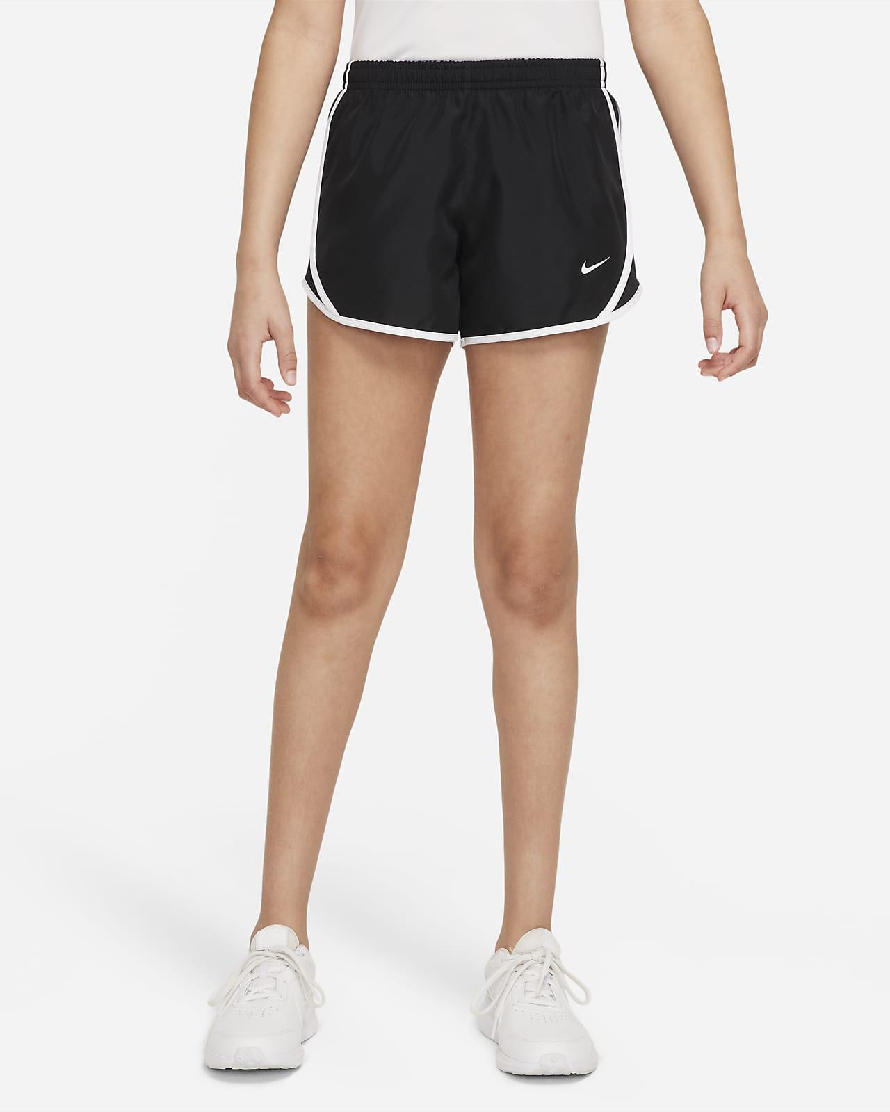 Shorts de running para niñas talla grande Nike Dri-FIT Tempo