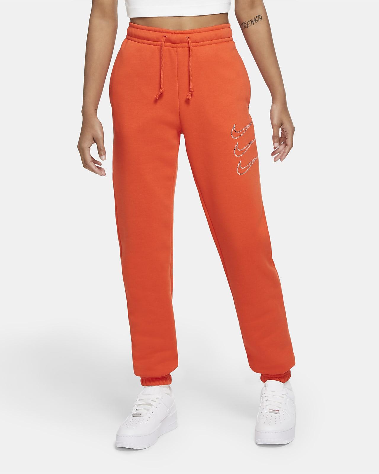 Pantalon en tissu Fleece Nike Sportswear Rhinestone pour Femme