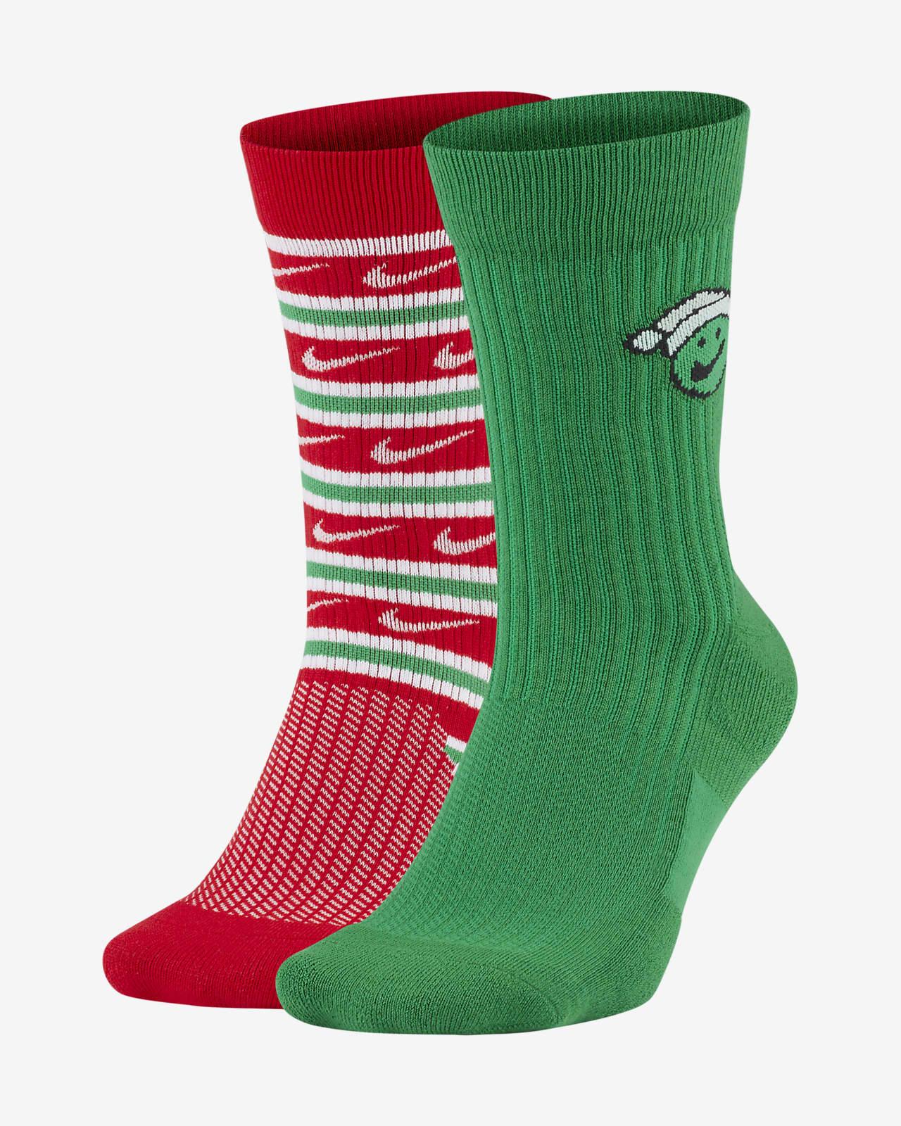 Nike SNKR Sox Crew Socks (2 Pairs)