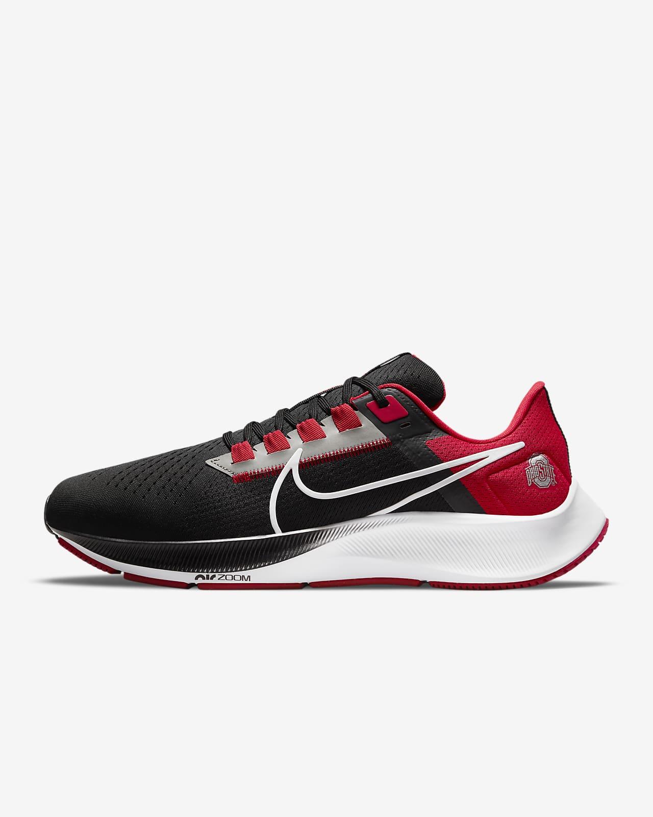 Nike College Air Zoom Pegasus 38 (Ohio State) Running Shoe
