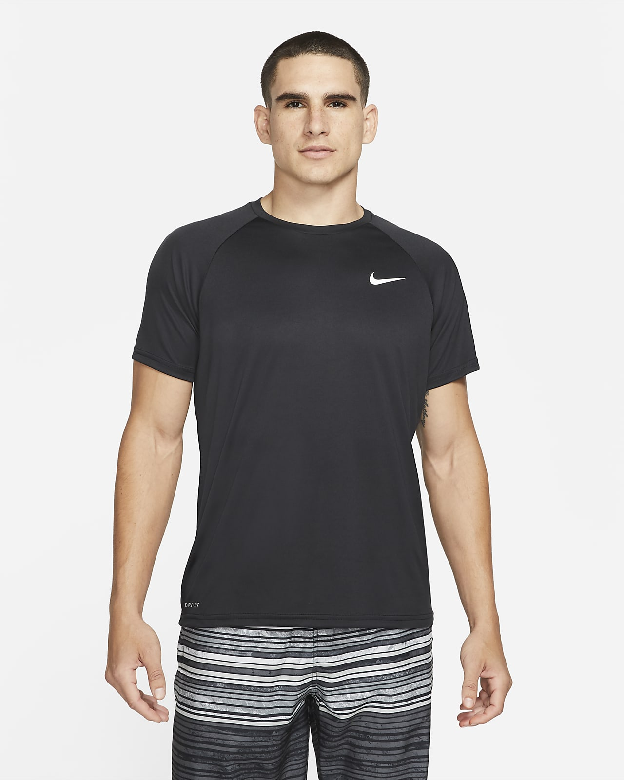Nike Essential Men's Short-Sleeve Hydroguard Swim Shirt