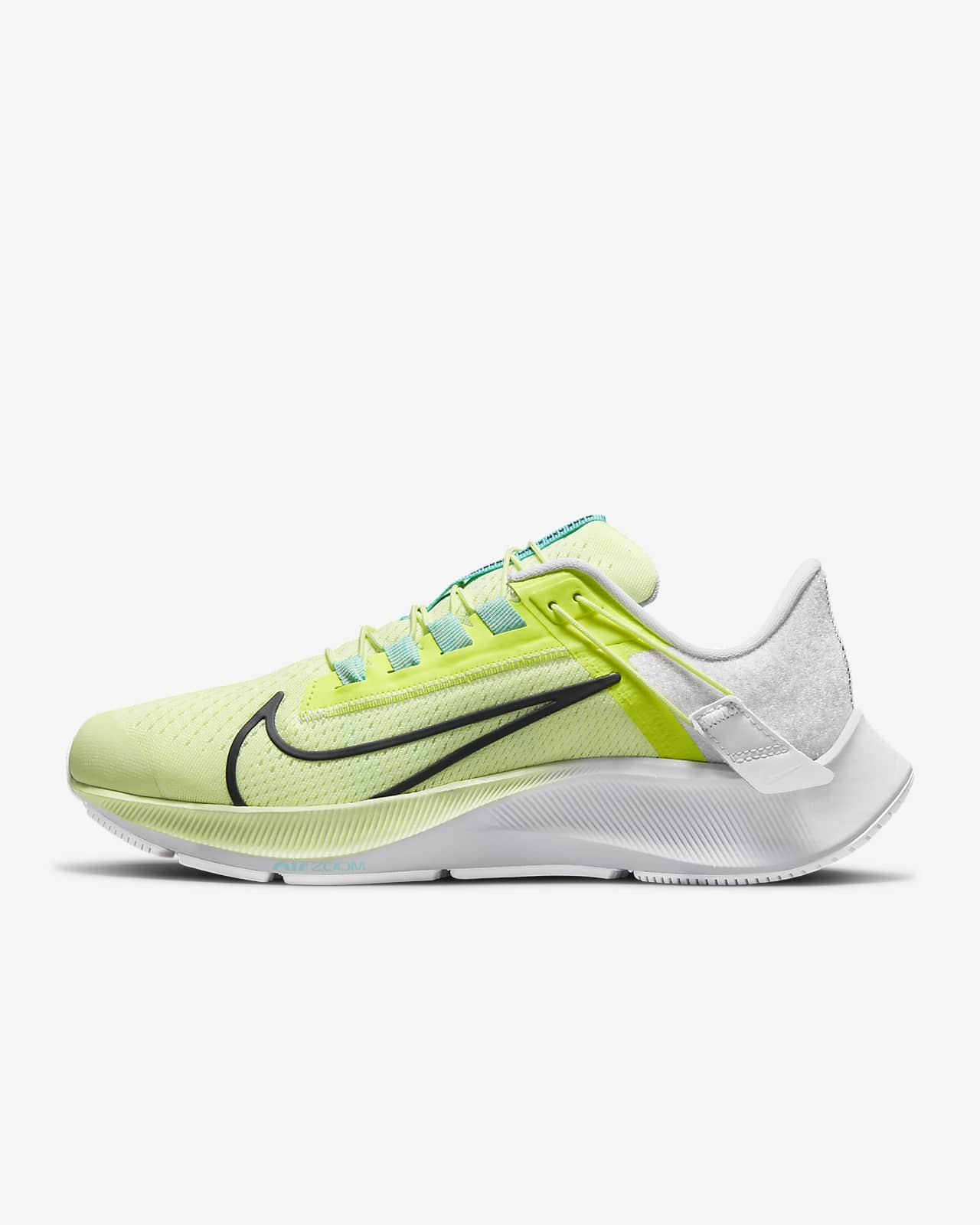 Nike Air Zoom Pegasus 38 FlyEase løpesko for vei til dame som er enkel å ta av/på